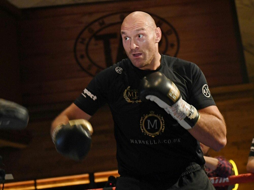 Tyson Fury steigt im September wieder in den Ring