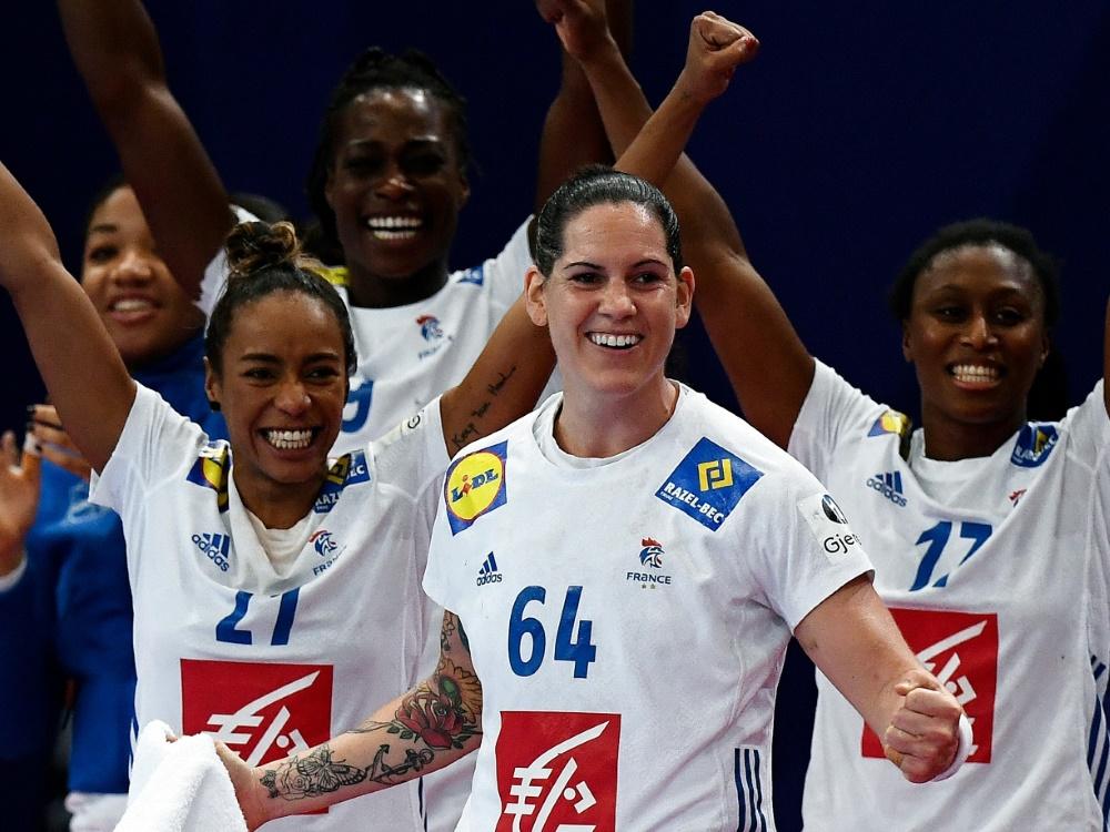 Die Französinnen ziehen ins EM-Finale ein
