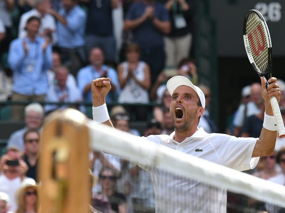 Halbfinalist in Wimbledon: Roberto Bautista Agut