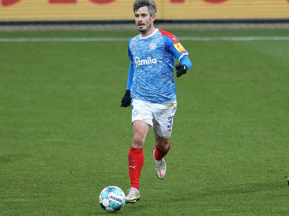 Fin Bartels tritt mit Kiel beim Hamburger SV an