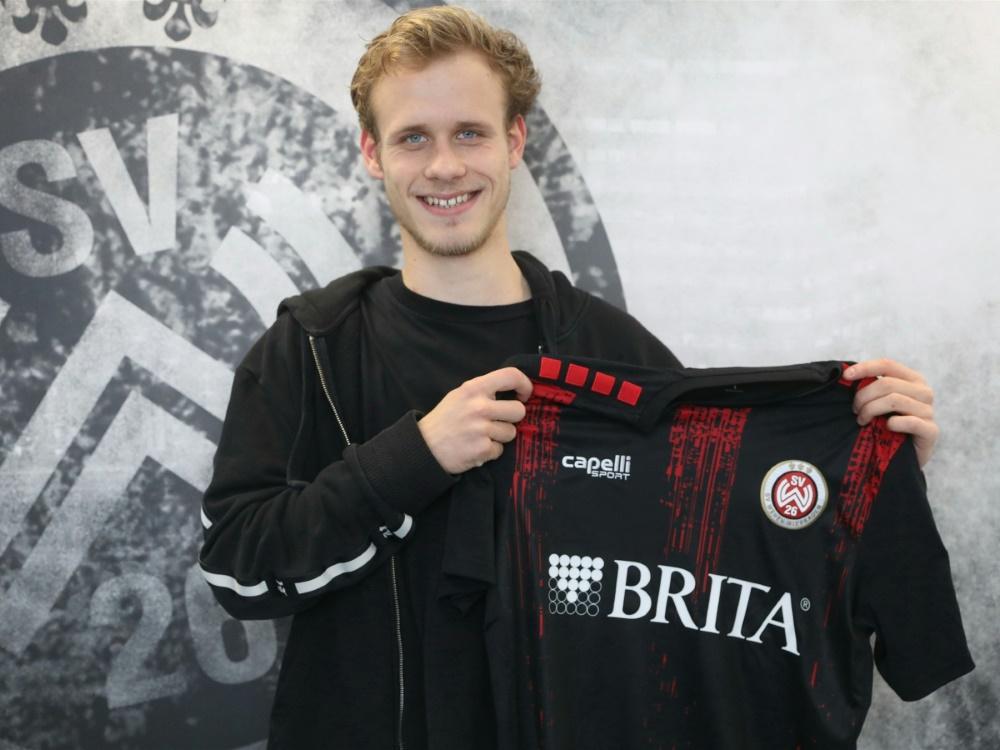 Lucas Brumme unterschreibt bei Wehen Wiesbaden
