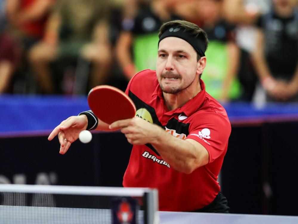 Timo Boll freut sich auf den Start der Turnierserie