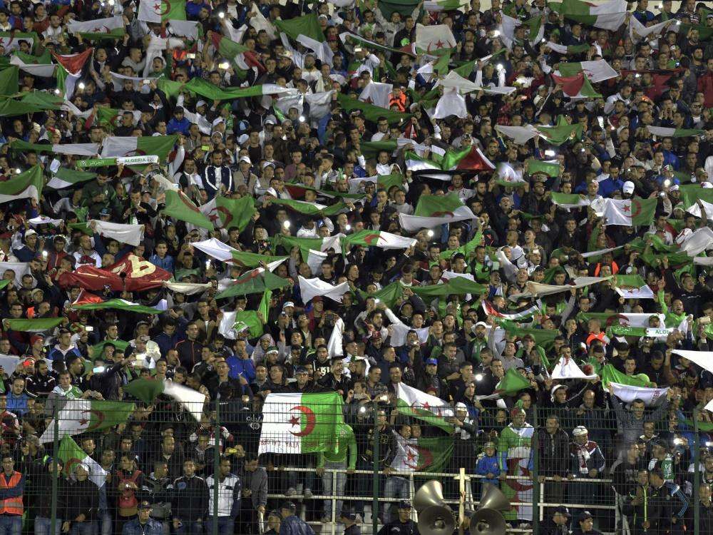 Beim Pokalspiel von MC Algier kam es zu Ausschreitungen