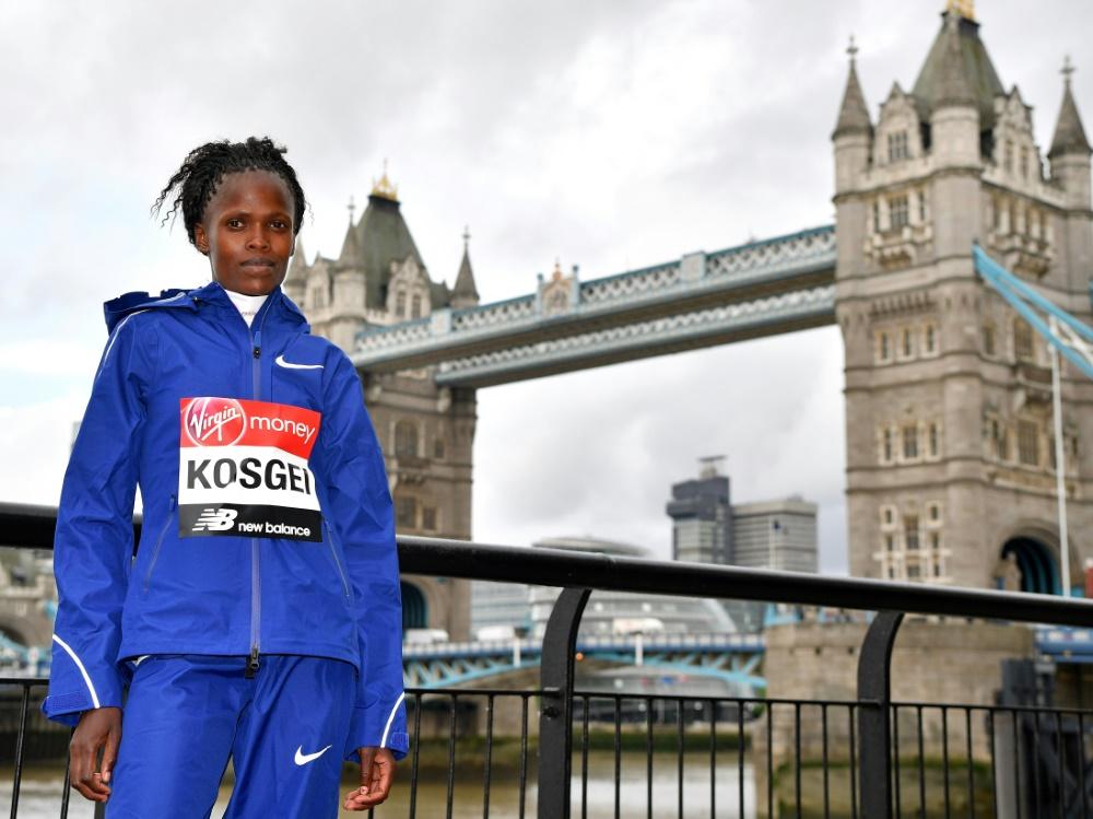 In London erneut erfolgreich: Brigid Kosgei