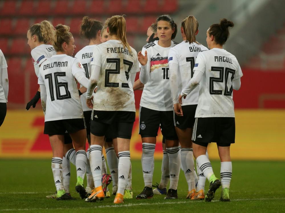 DFB-Frauen beenden Jahr als Weltranglistenzweite