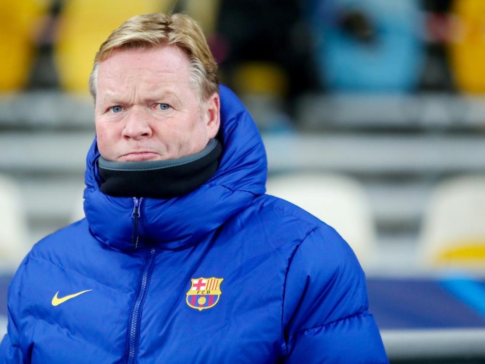 Ronald Koeman darf das Traineramt bei Barcelona behalten