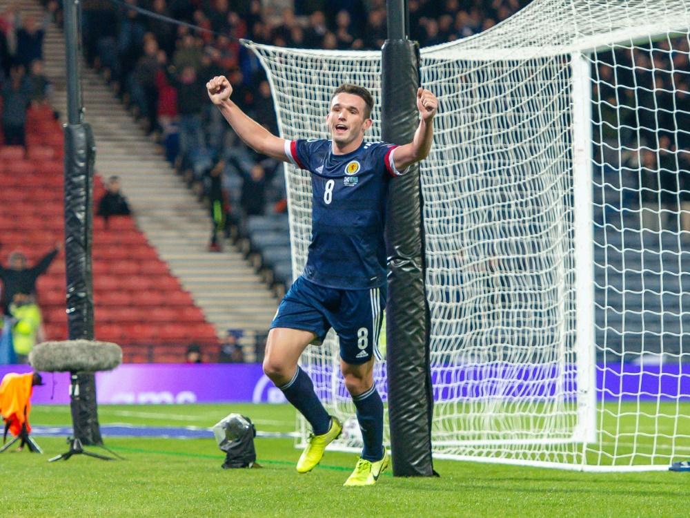 Schottland ist erstmals seit 1996 bei einer Fußball-EM dabei