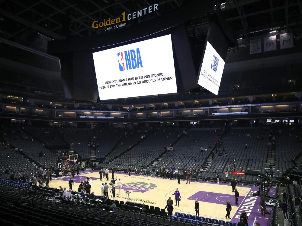 Der NBA-Spielbetrieb ruht noch mindestens bis Mai