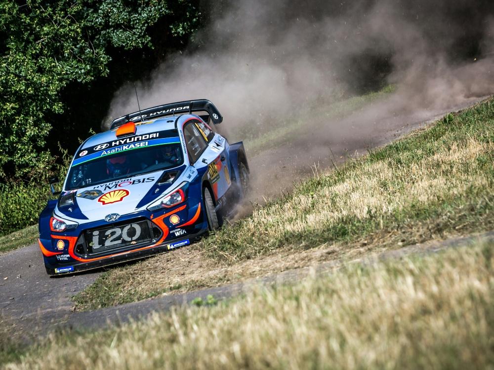 Mit Problemen bei der Rallye Deutschland: Dani Sordo