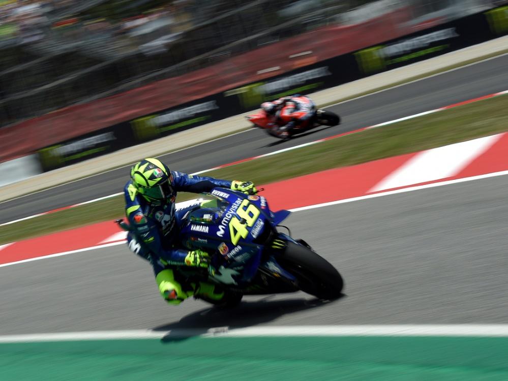 Keine Motorrad-WM am Sachsenring: Rossi fände es schade