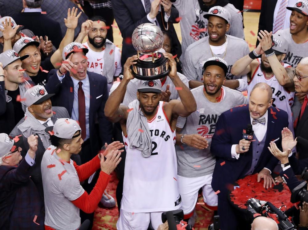 Stehen im NBA-Finale: Kawhi Leonard und Toronto
