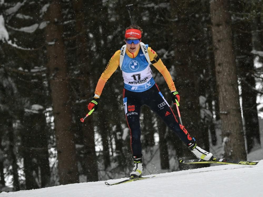 Janina Hettich landet auf Platz fünf