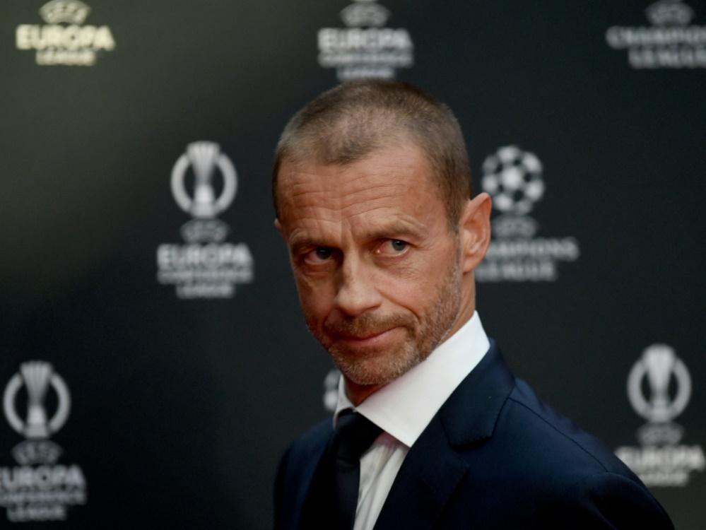 UEFA-Präsident Ceferin hat Redebedarf mit Infantino