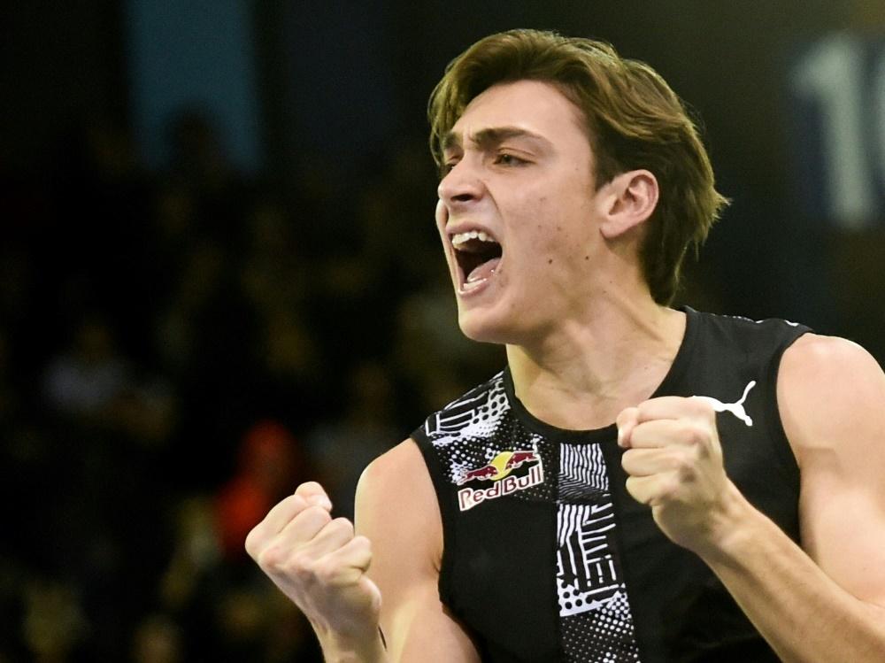 Duplantis gewinnt in Lievin mit übersprungenen 6,07 m