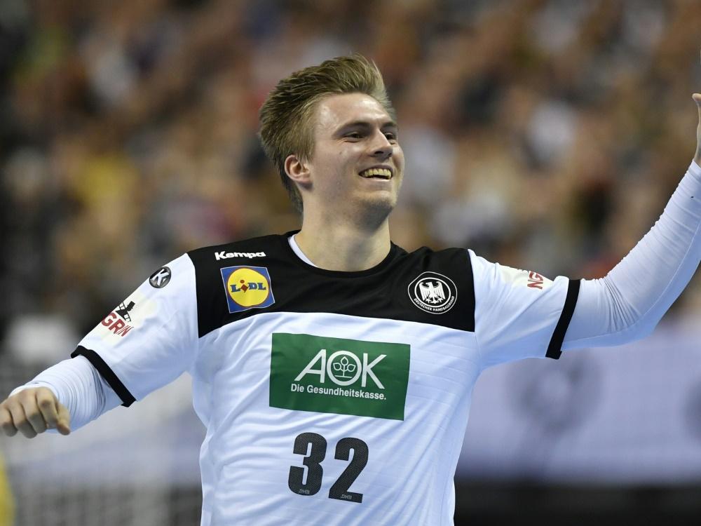 Franz Semper fehlt dem DHB-Team mit einer Muskelverletzung