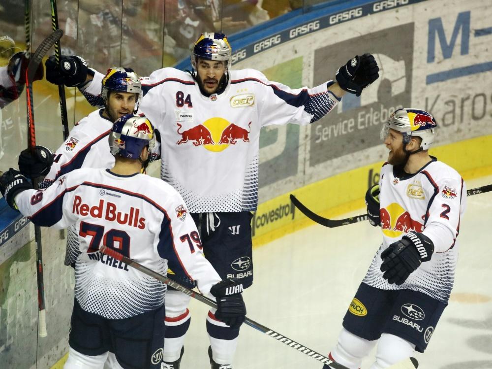 Red Bull München holte in der CHL den zweiten Sieg