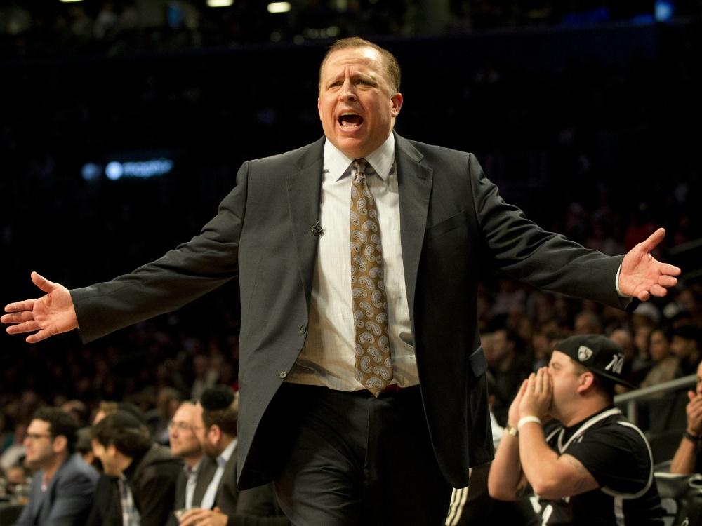 Tom Thibodeau wird Trainer bei den New York Knicks