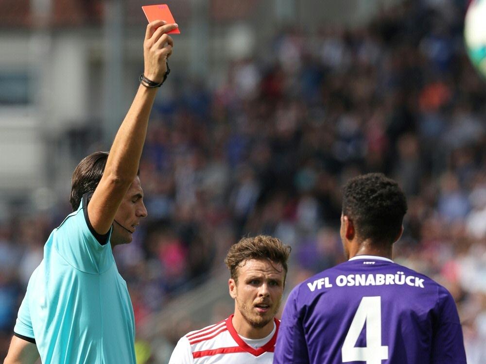 Marcel Appiah muss zwei Pokalspiele zuschauen