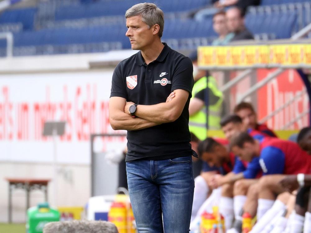 Sieg für den TSV Havelse und Trainer Rüdiger Ziehl