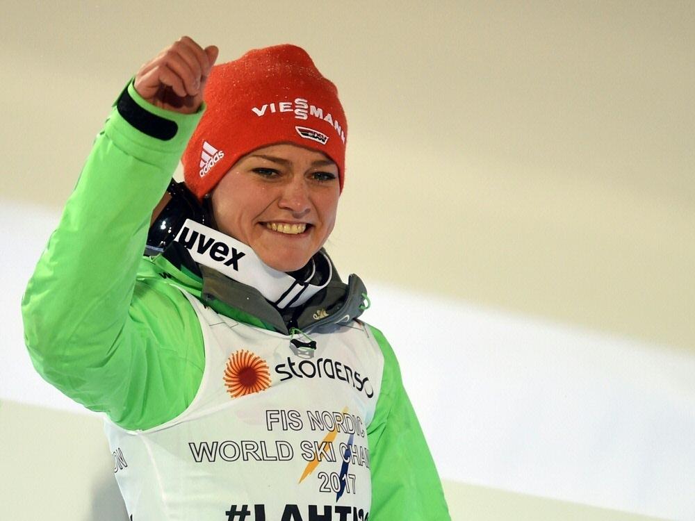 Neu: Teamwettbewerb für Vogt und die Skispringerinnen