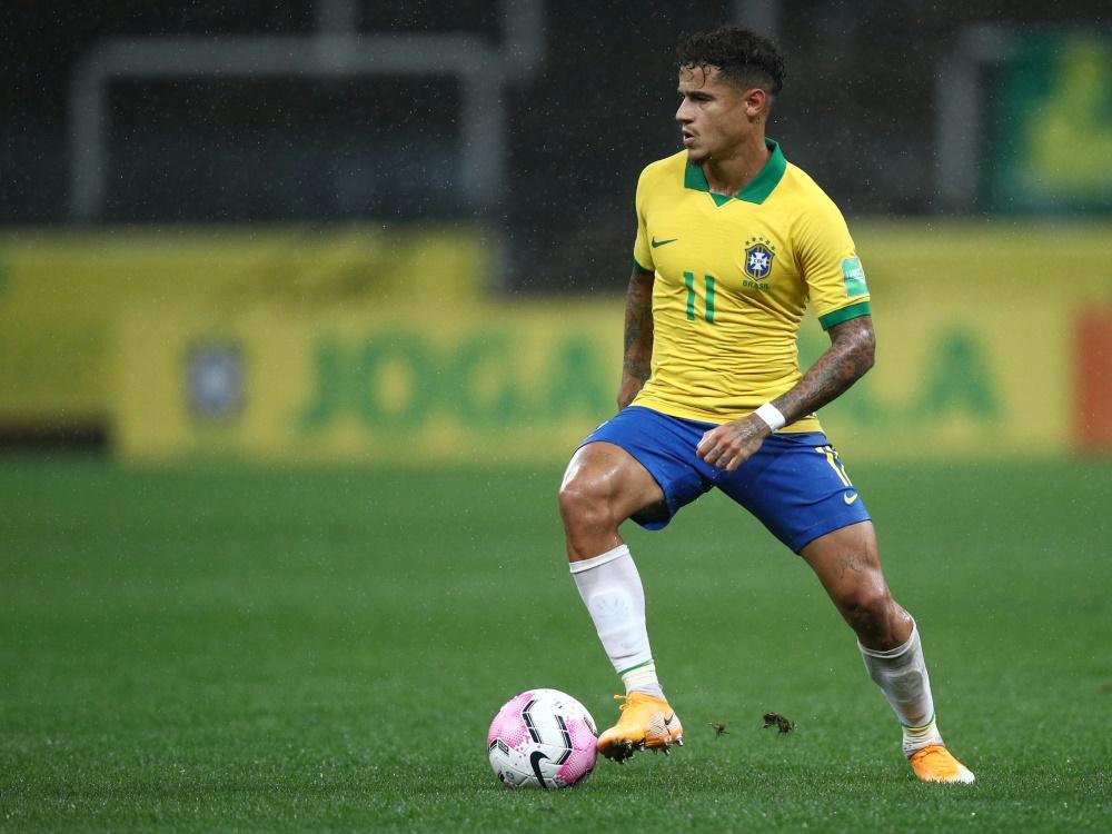Philippe Coutinho wurde erneut am linken Knie operiert
