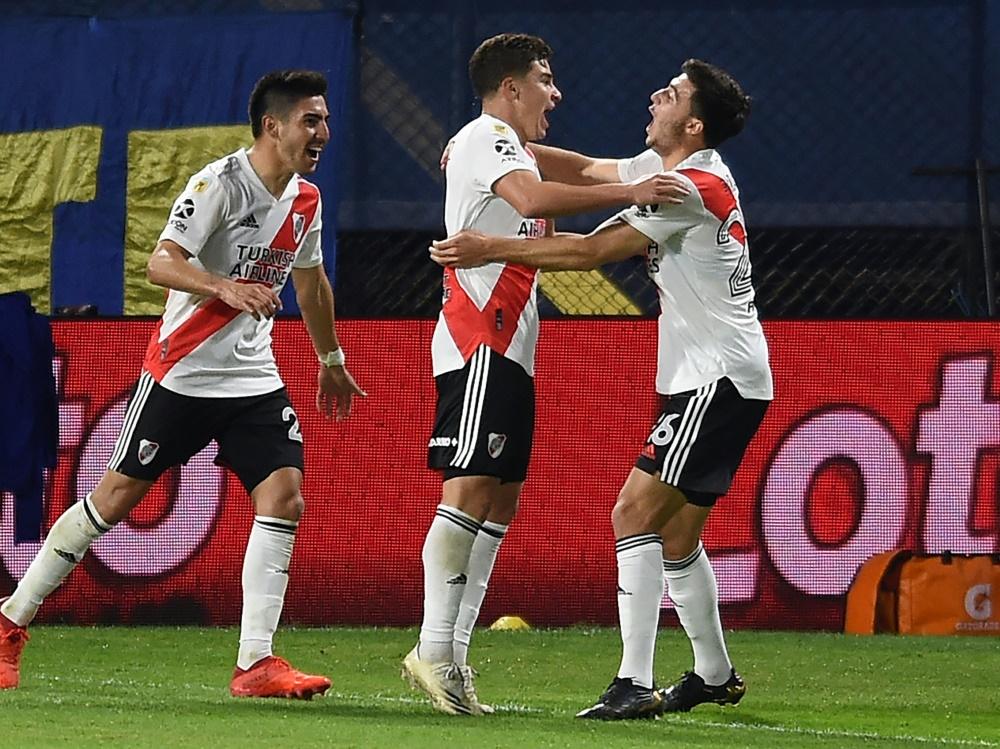 Bei River Plate gibt es einen Corona-Ausbruch