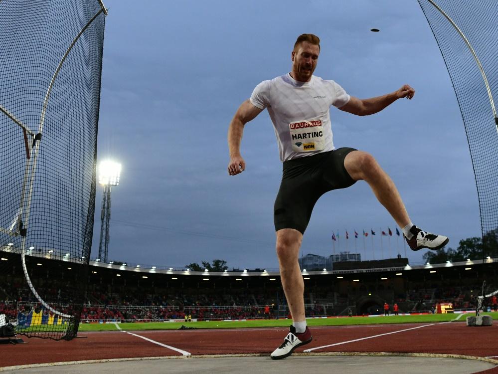 Christoph Harting verpasst erneut WM-Norm
