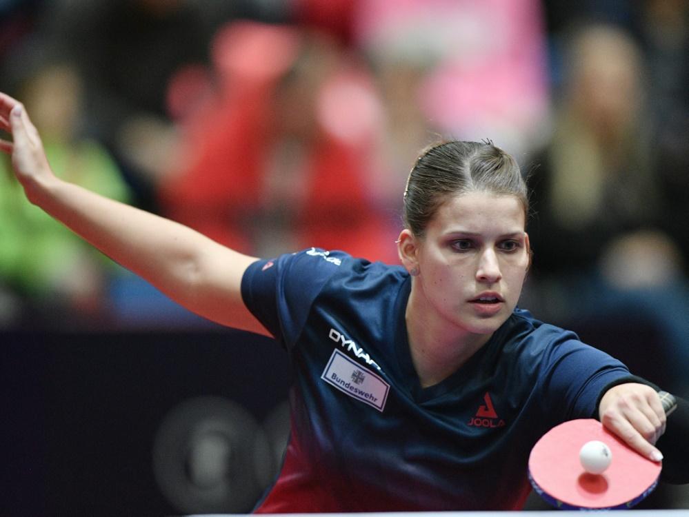 Petrissa Solja hat das Viertelfinale erreicht