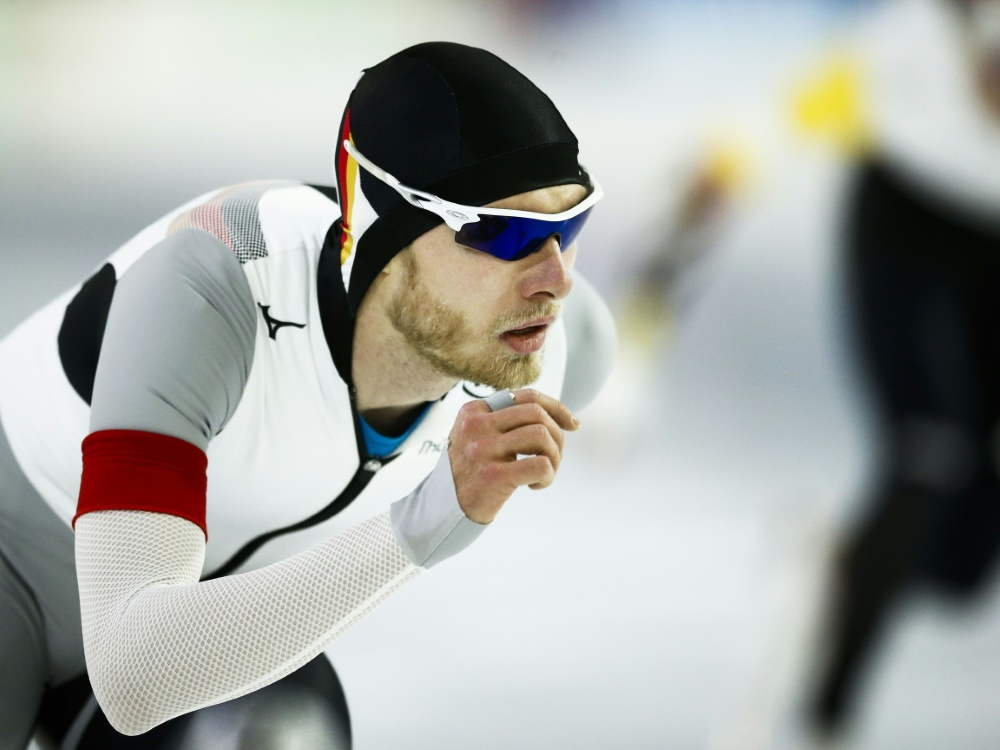 Eisschnelllauf Beckert überzeugt Als Sechster Gold Für Pedersen