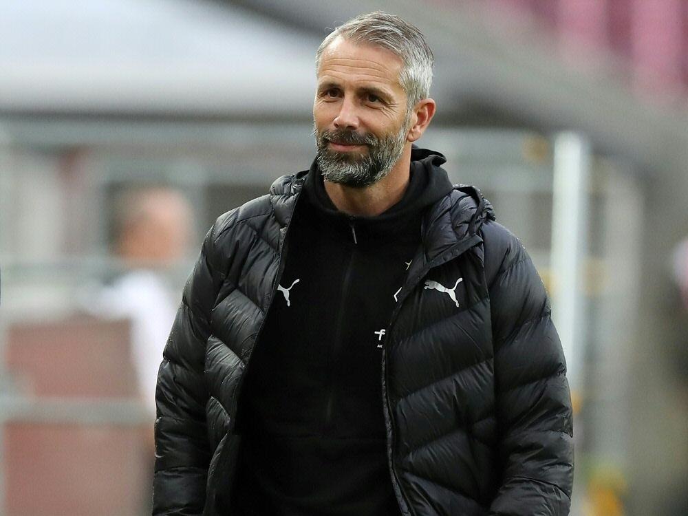 Trainer Marco Rose denkt nicht an die Vergangenheit