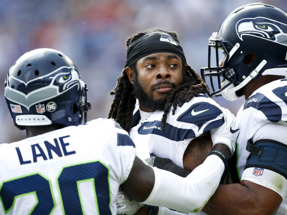 Cornerback Richard Sherman muss die Seattle Seahawks verlassen