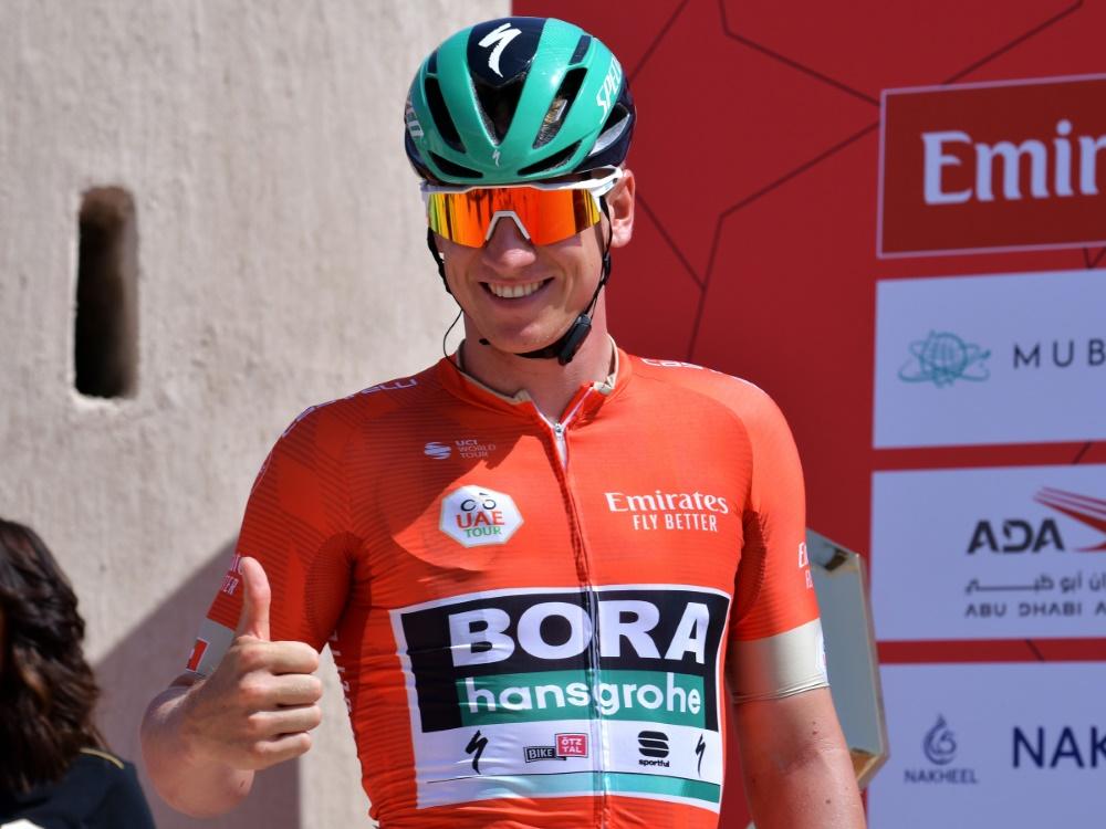 Radprofi Pascal Ackermann feiert zweiten Etappensieg