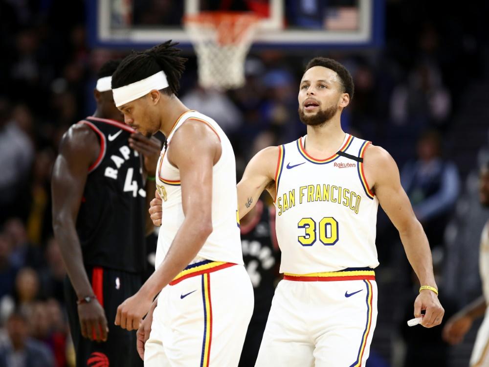 Curry und die Warriors wollen großzügig spenden