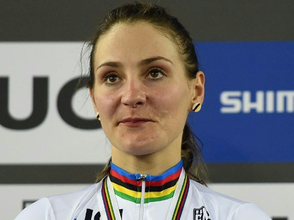 Vogel als Radsportlerin des Jahres ausgezeichnet