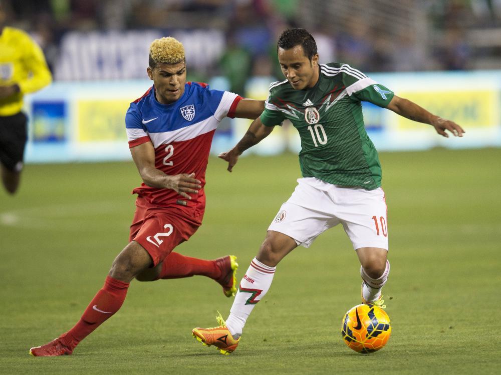 Luis Montes (r.) fällt für die WM in Brasilien aus