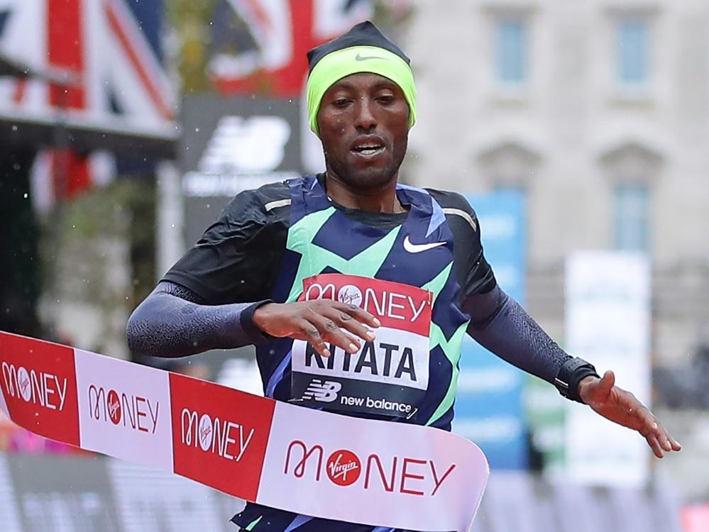 Überraschend Sieger des London-Marathons: Shura Kitata