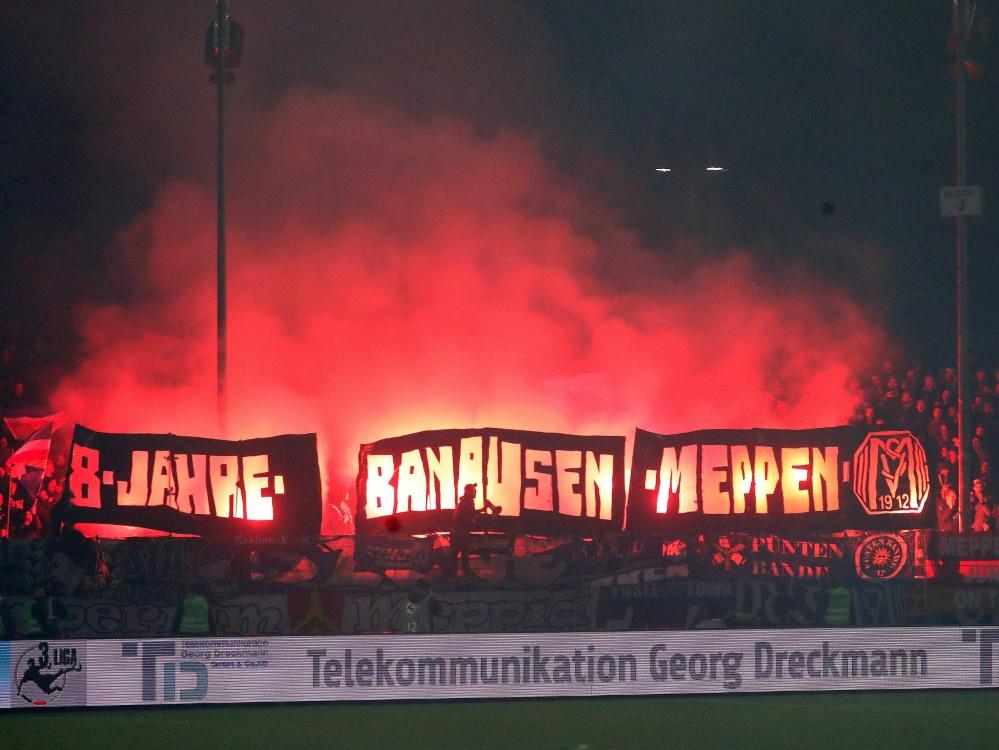 Der SV Meppen wird vom DFB zur Kasse gebeten