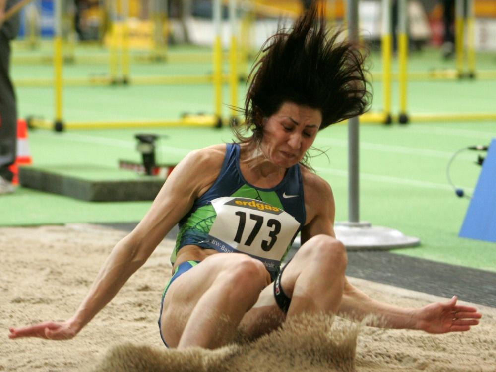 Lebedeva holte 2008 in Peking zweimal Silber