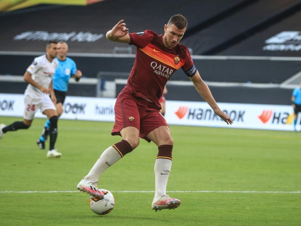 Edin Dzeko steht vor einem Wechsel zu Juventus Turin