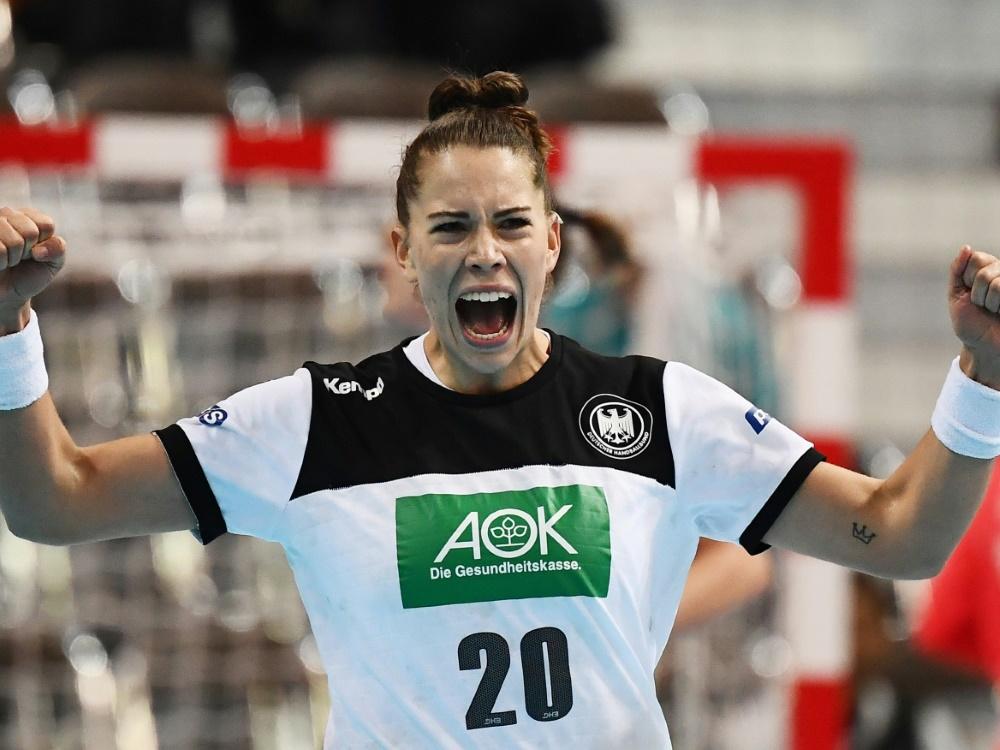 Emily Bölk will es ins Halbfinale schaffen