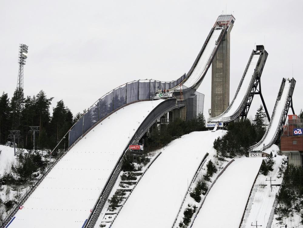 Coronafälle vor dem Start in Lahti