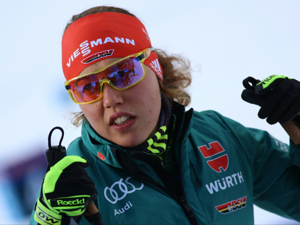 Olympiasiegerin Laura Dahlmeier muss pausieren