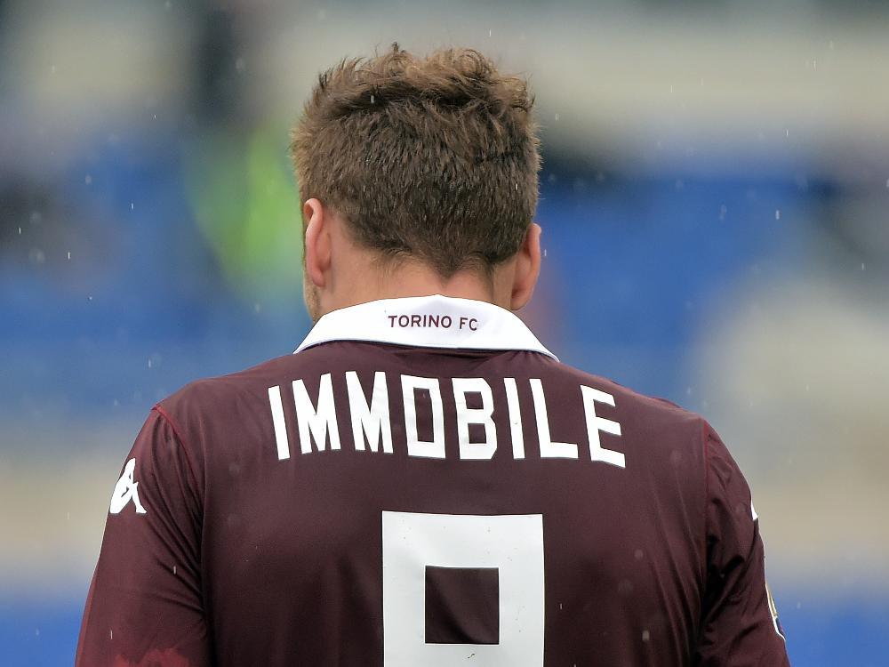 Ciro Immobile gehört anteilig beiden Erstligisten aus Turin
