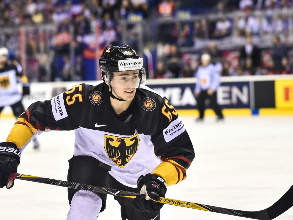 Eishockey-Nationalspieler Marc Michaelis