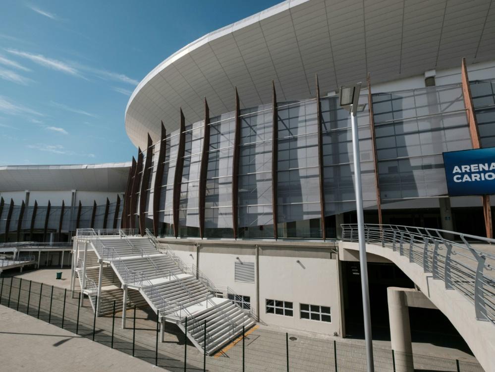 Vorerst kein Zugang zur Arena Carioca 1