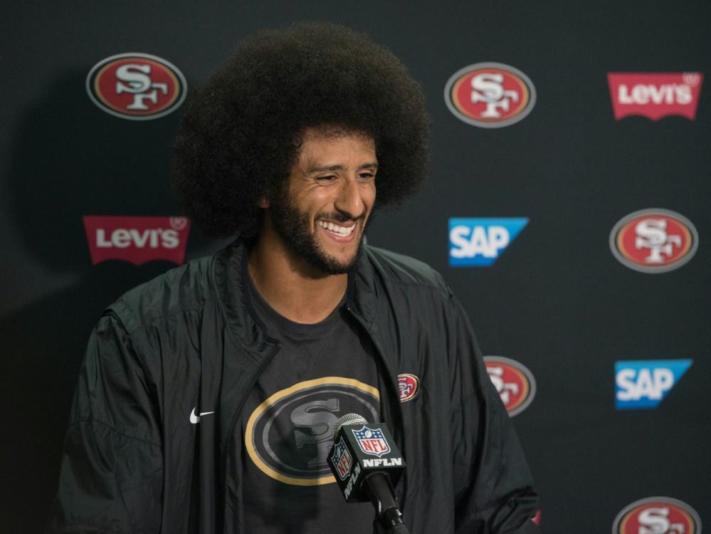 Persona non grata in der NFL: Colin Kaepernick