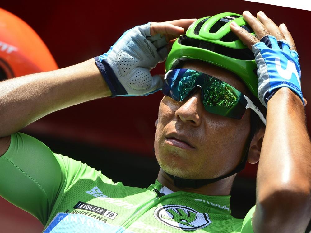 Stürzte im Training: Nairo Quintana