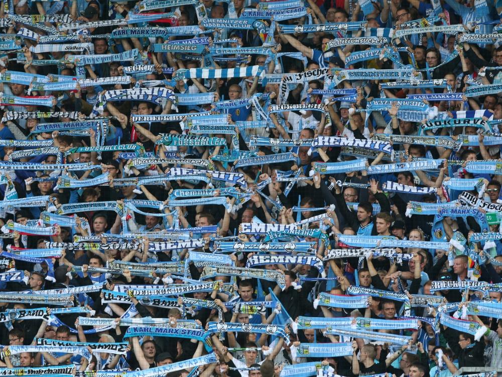 Chemnitz darf beim Saisonauftakt vor Fans spielen