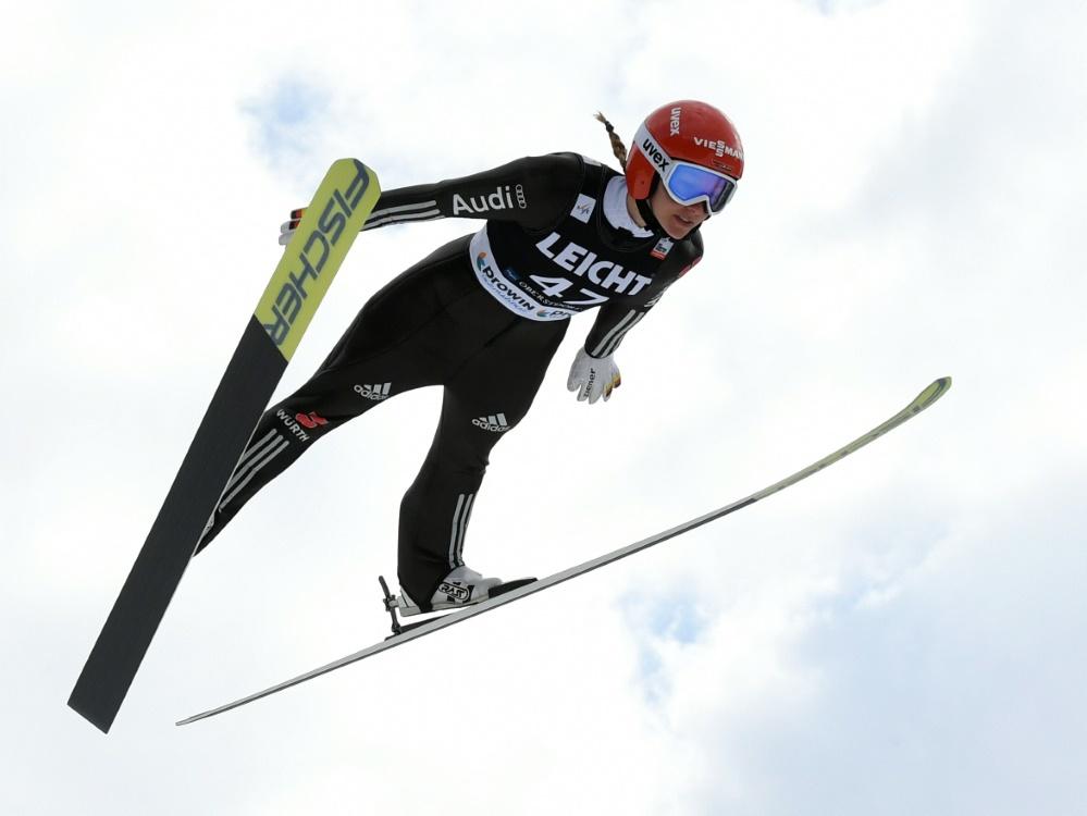 Das Finale des Skispringens der Frauen wurde abgesagt