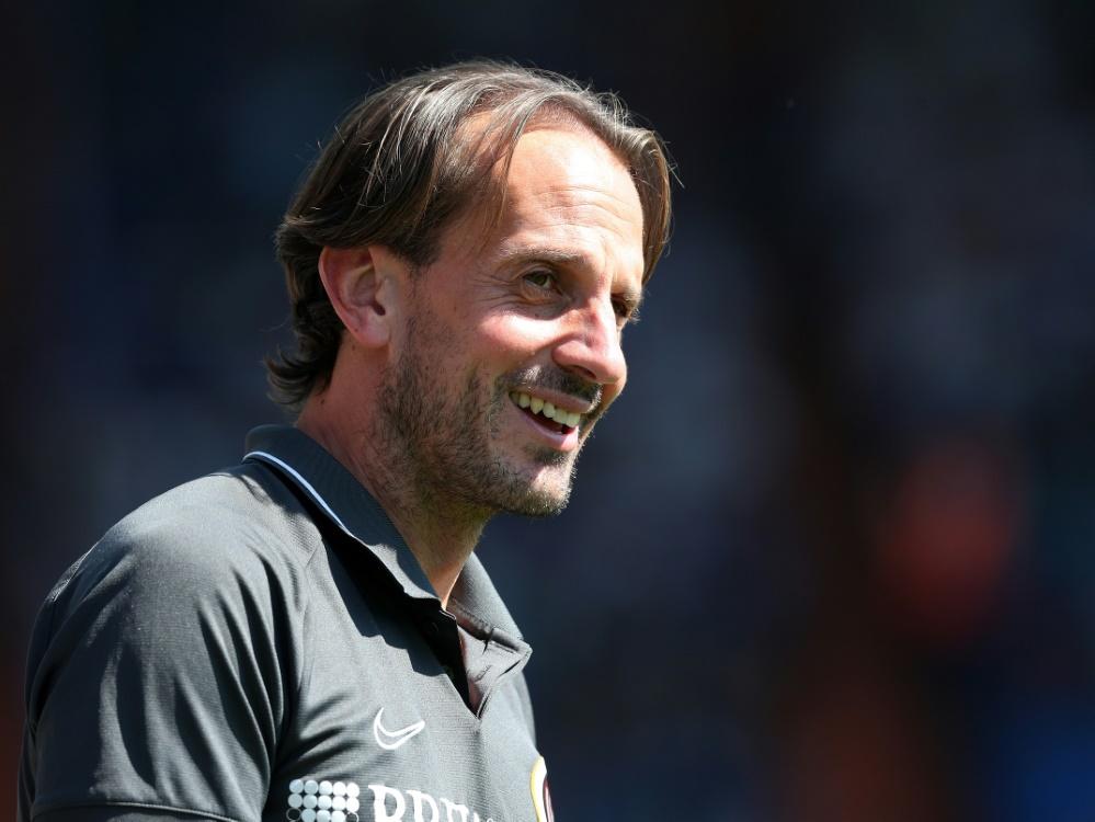 Das Team von Trainer Rüdiger Rehm freut sich auf Fans